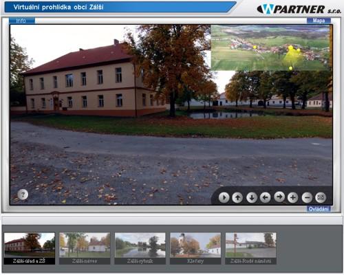 Start virtuální prohlídky